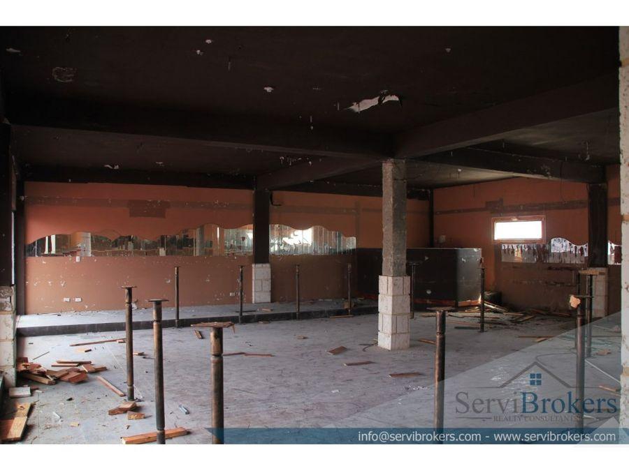 local comercial 309 m2 friusa bavaro punta cana