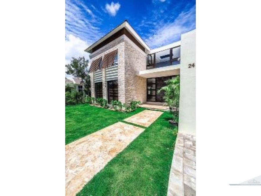 lujosa villa de 5 habitaciones punta cana village