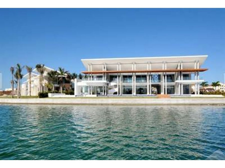 villa moderna 6 hab 75 banos marina cap cana punta cana