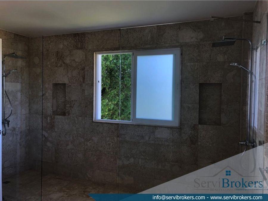 villa 5 habitaciones hacienda punta cana