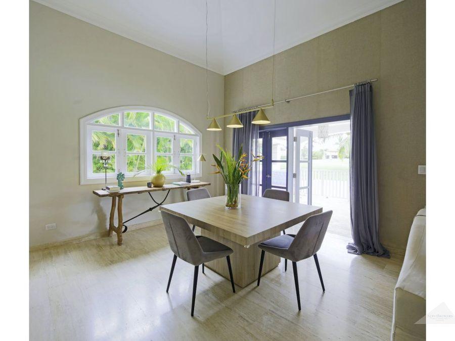 punta cana villa 3 habitaciones cocotal