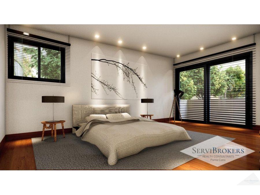 villa de lujo 3 dormitorios 3 banos punta cana