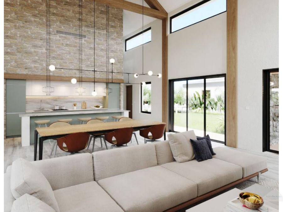 residencial ecuestre villa 3 habitaciones en venta punta cana