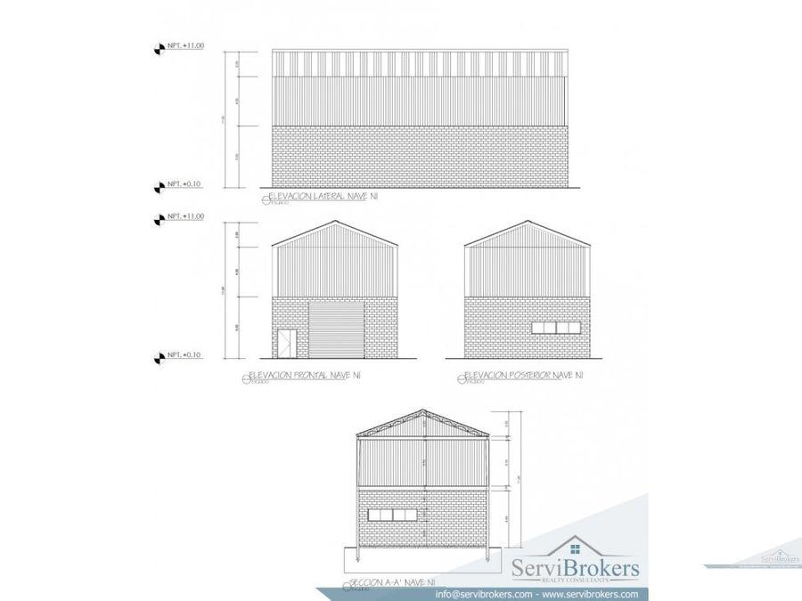 nave industrial logistica 226 m2 punta cana