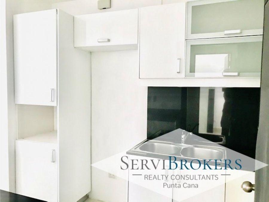 apartamento sin muebles con linea blanca punta cana