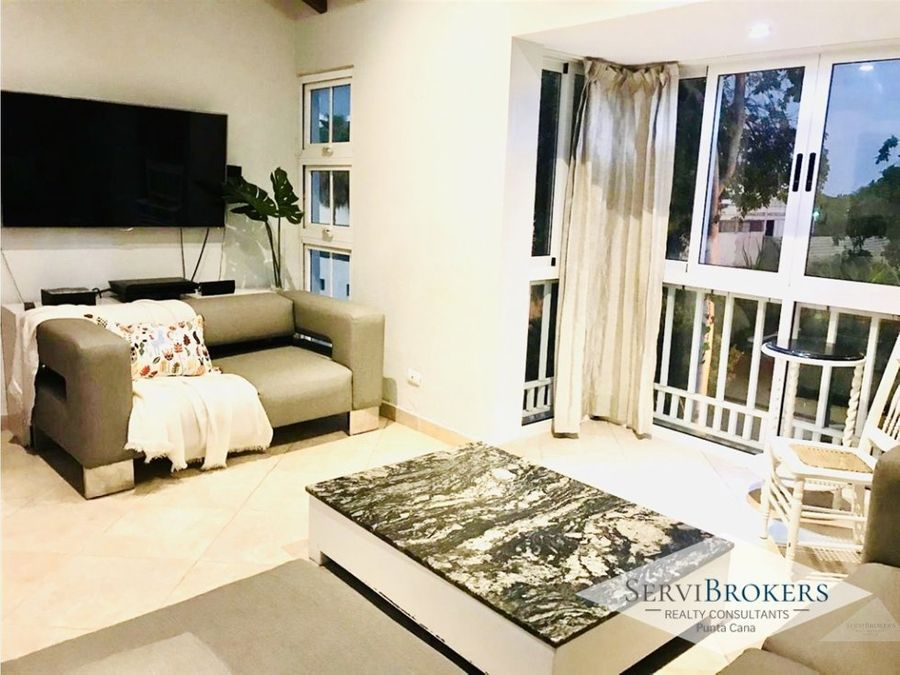punta cana penthouse 3 habitaciones 35 banos con muebles