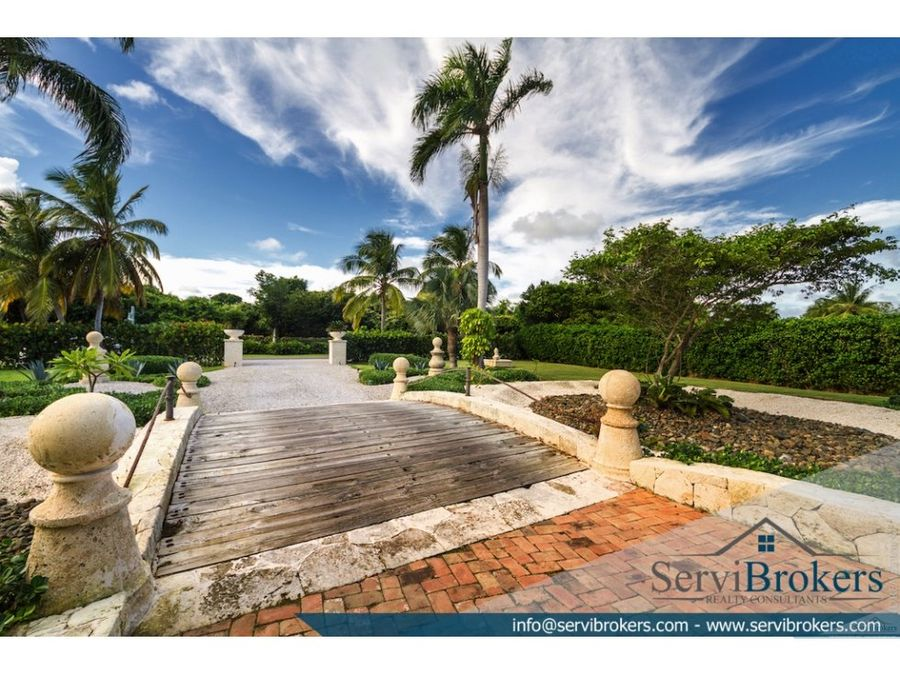 villa de lujo en punta cana resort arrecife 4 hab