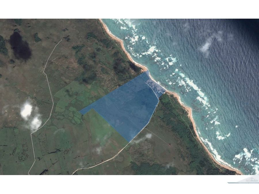 terreno playa la vacama punta cana 600000m2