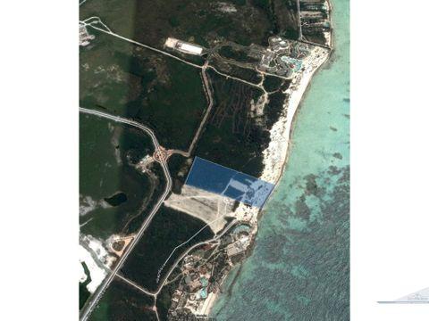 terreno playa hotel 65000 m2 cap cana
