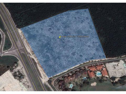 terreno comercial industrial 15000 m2 con 125 ml