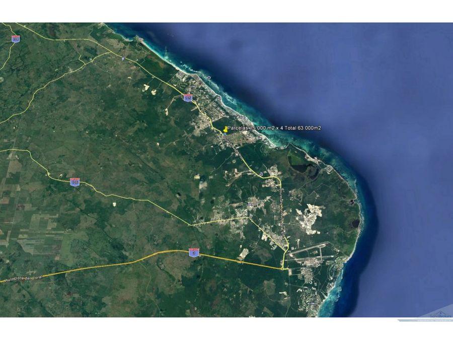 terreno 15000 m2 cocoloco bavaro punta cana