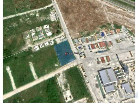 terreno 2000 m2 con 55 ml semi frente boulevard