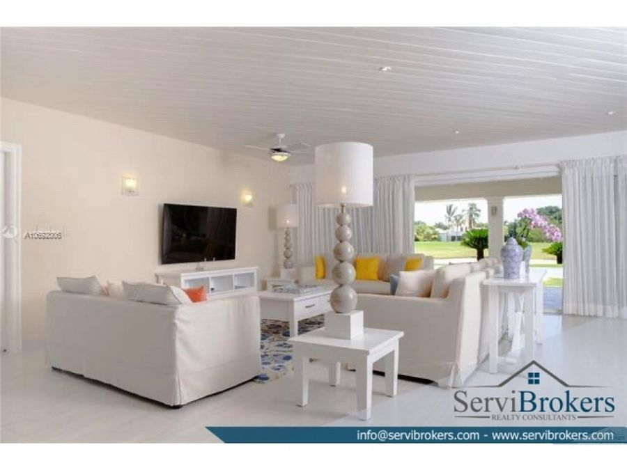 villa 4 habitaciones punta cana resort club