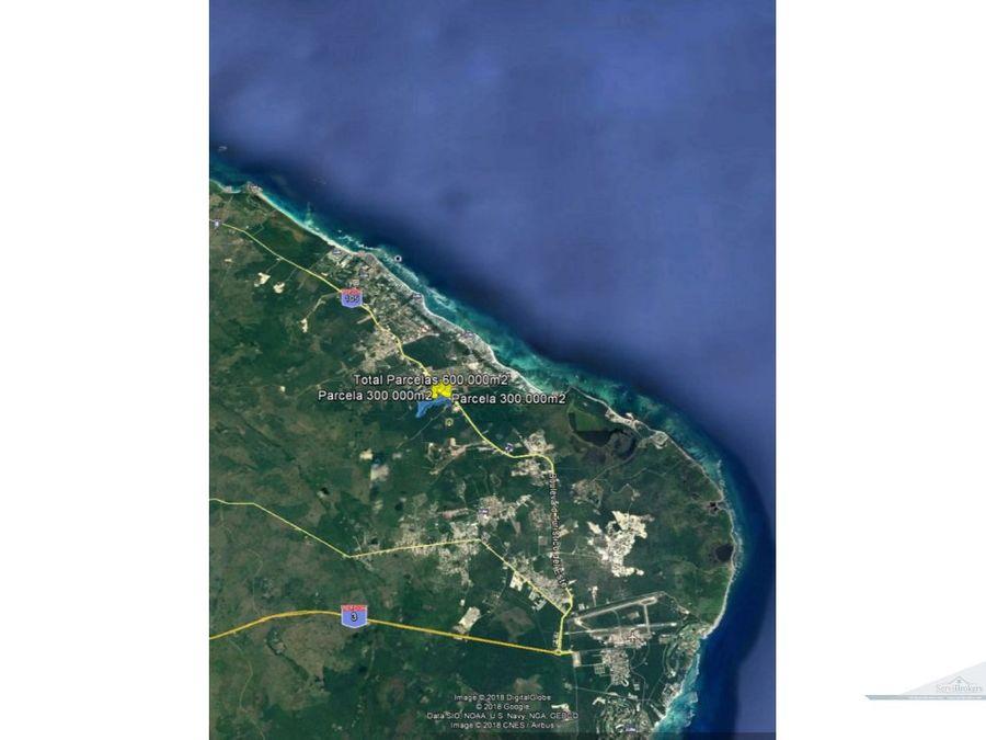 terreno 600000 m2 con 450ml frente boulevard