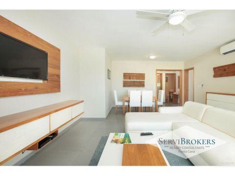 punta cana punta blanca venta apartamento 2 habitaciones 2 banos
