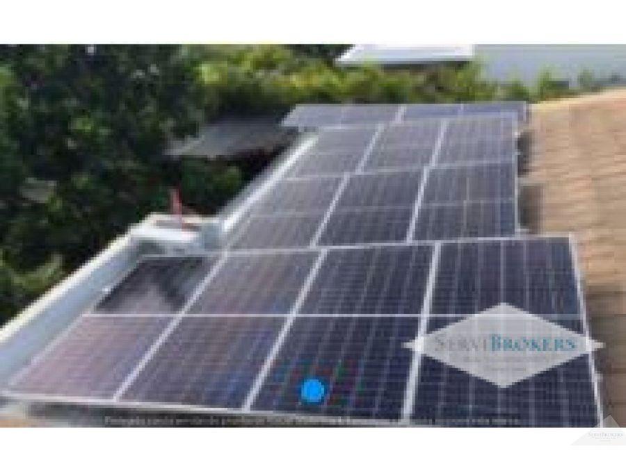 punta cana venta casa 3 habitaciones 3 banos energia solar
