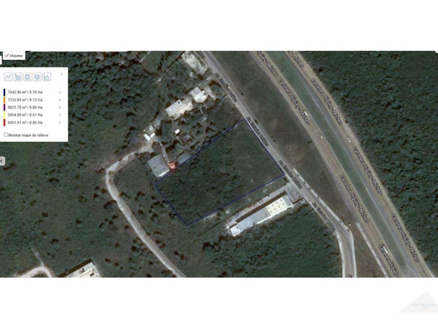 terreno en venta 7013m2 land for sale 75487sqf boulevard