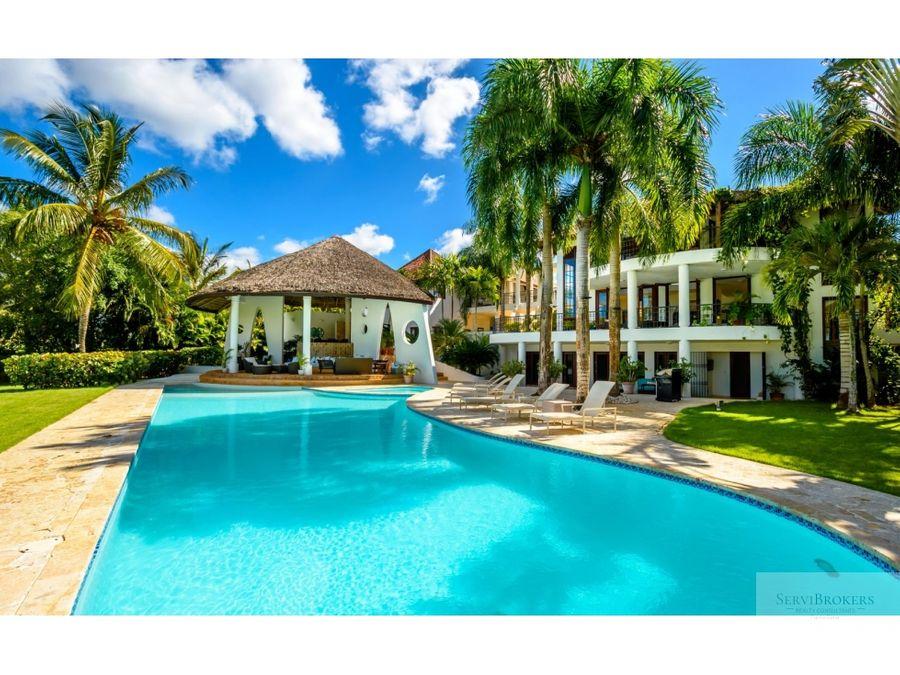 casa de campo magnifica villa 6 hab