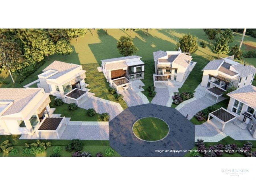 punta cana villas en venta cocotal golf country club