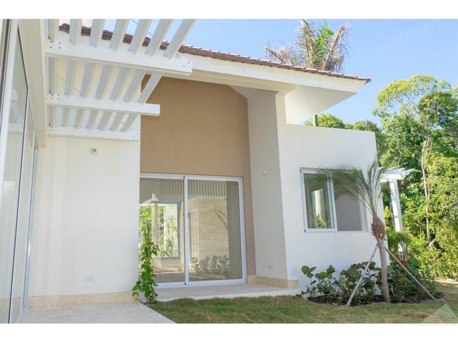 villa 4 habitaciones hacienda punta cana resort