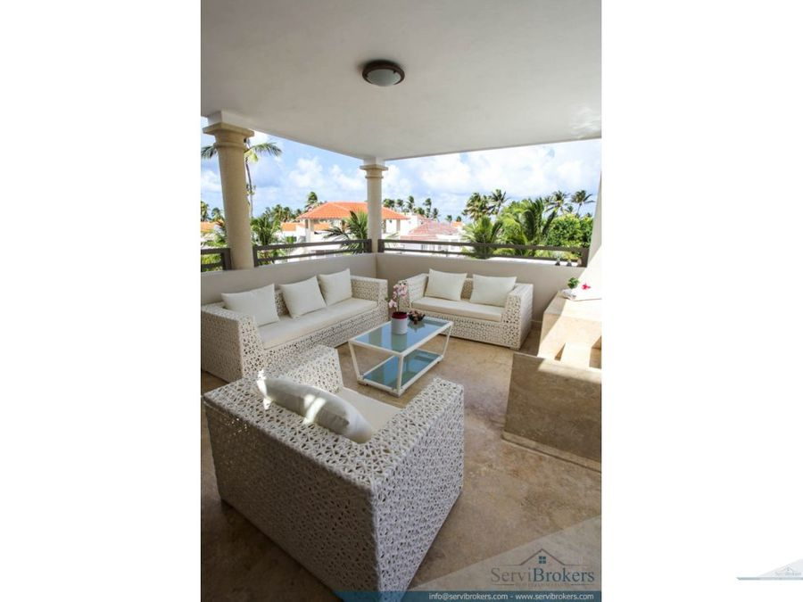 espectacular penthouse 3 hab bavaro punta cana