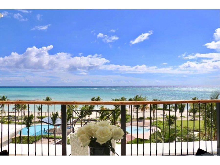punta cana penthouse frente al mar en venta