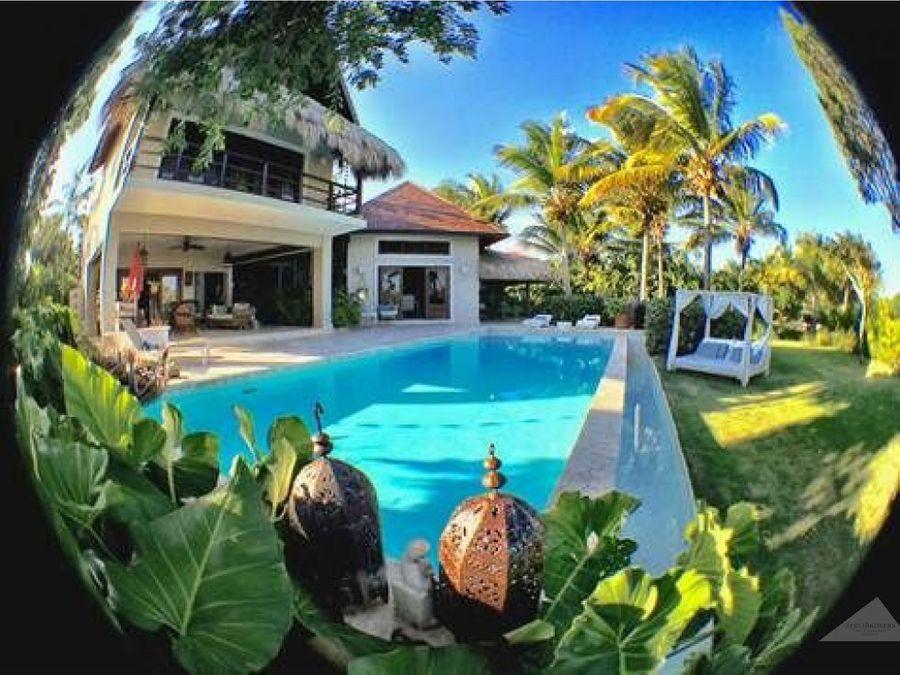 villa en venta punta cana tortuga bay