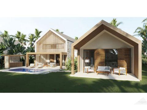 residencial ecuestre villa 4 habitaciones en venta punta cana