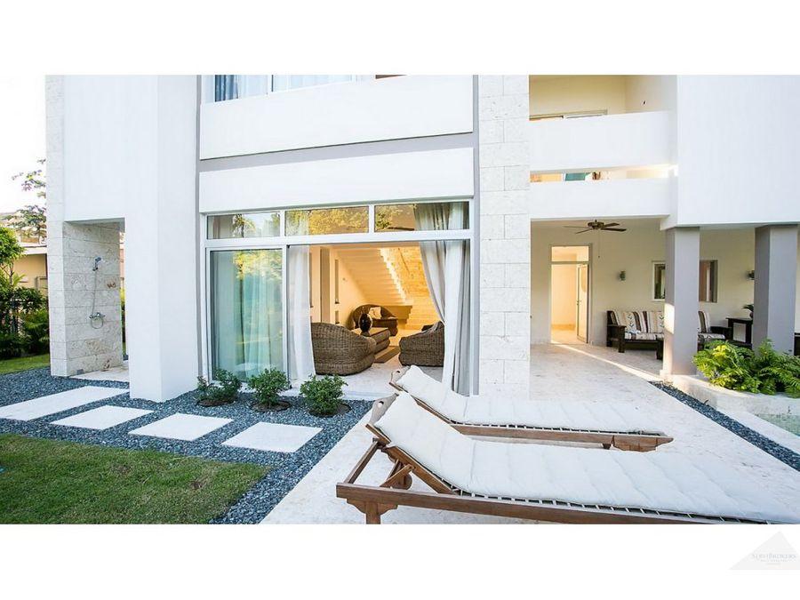 lujosa villa con 3 dormitorios 3 banos punta cana village