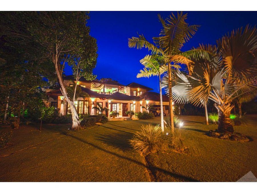 lujosa villa en venta punta cana resort club