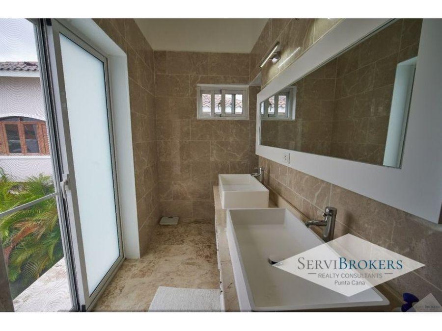 punta cana cocotal venta villa 5 habitaciones 2 banos 1 family room