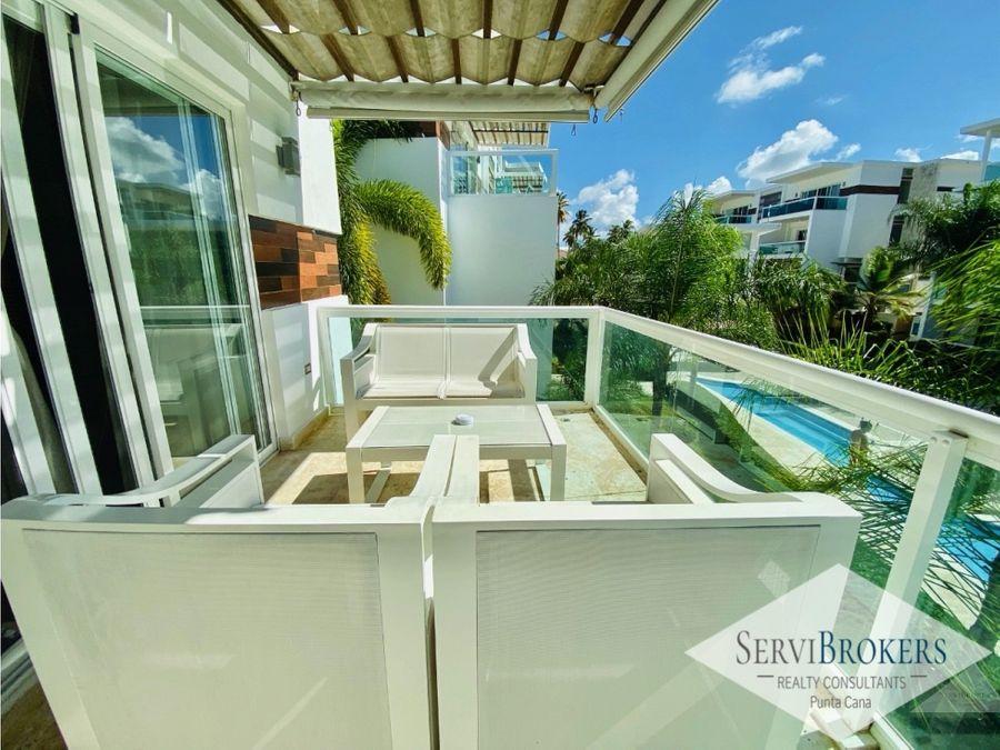 pent house 3 habitaciones con suite privada bavaro punta cana