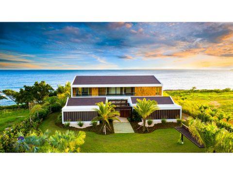 villa frente al mar casa de campo