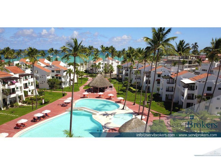 apartamento 1 habitacion playa privada