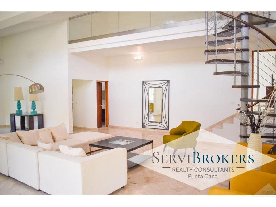 punta cana venta villa cocotal 3 habitaciones 25 banos