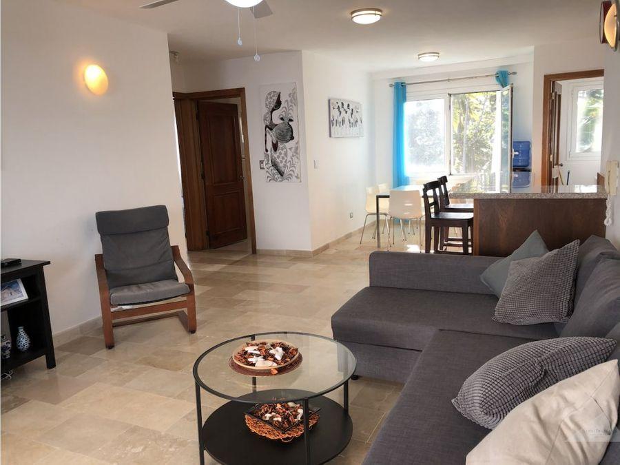 apartamento frente al mar punta cana 2 habitaciones 2 banos