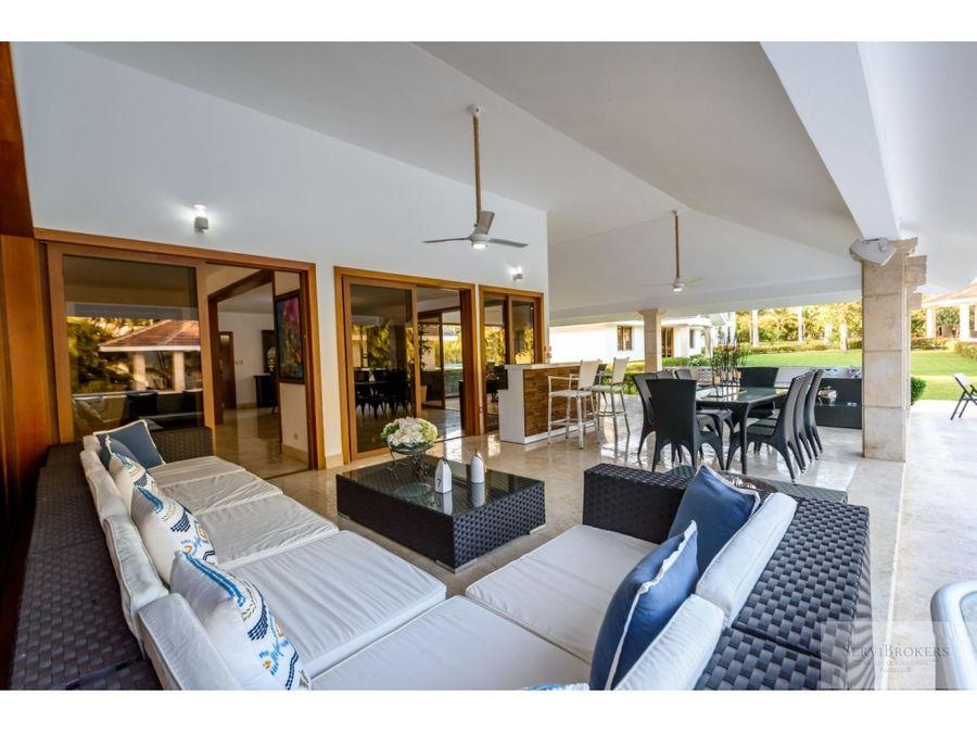 hermosa villa de 10 habitaciones en casa de campo