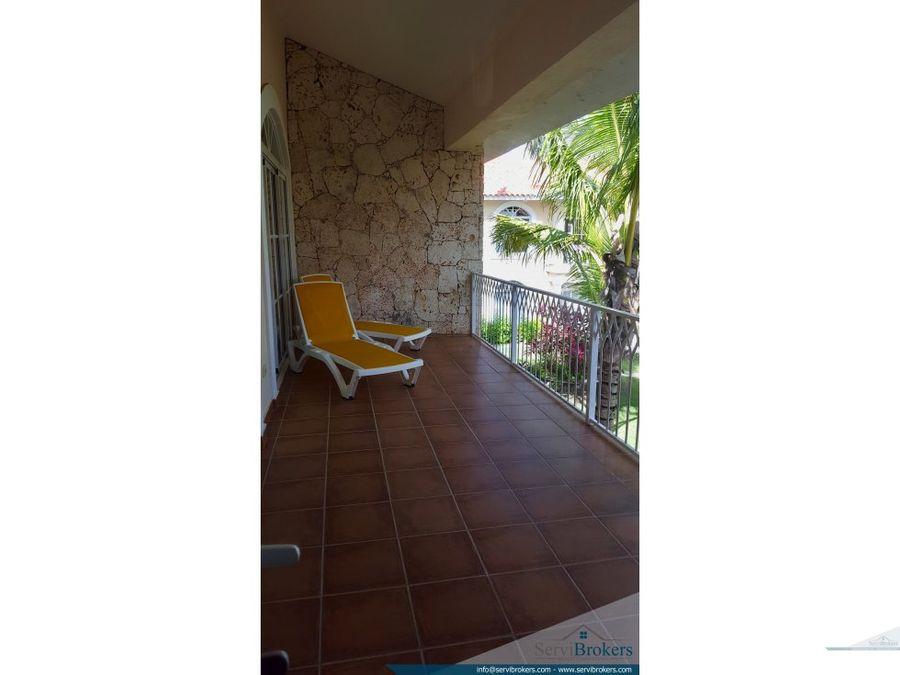 villa amueblada 3 habitaciones cocotal punta cana