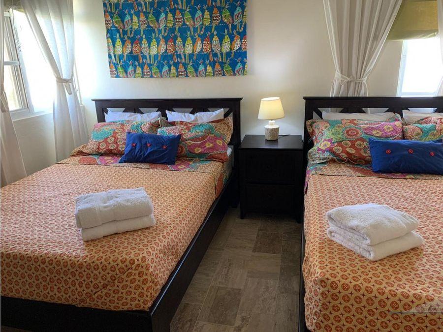 el cortecito pent house 2 habitaciones 2 banos bavaro punta cana