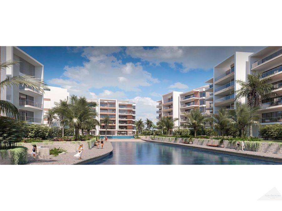 punta cana apartamentos de lujo en venta con hermoso lago