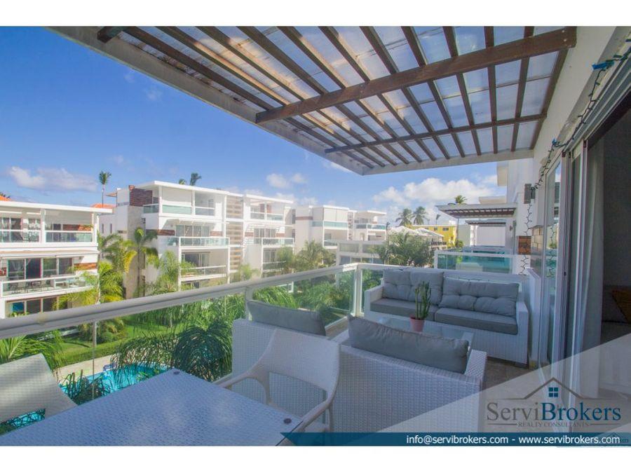 penthouse en venta 3 habitaciones bavaro