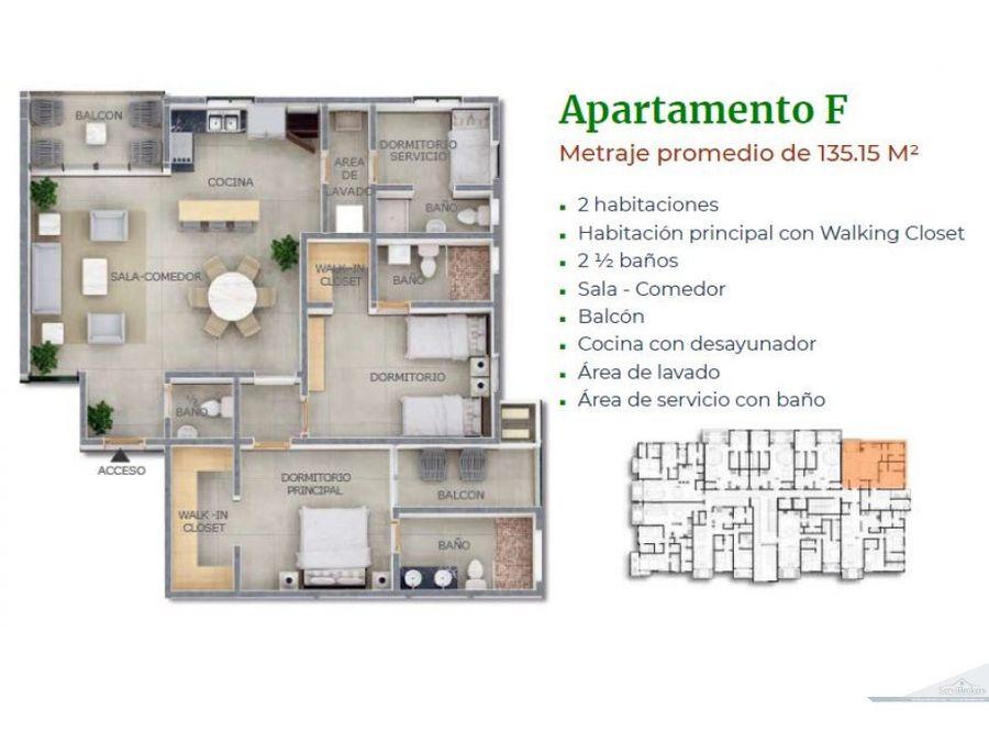 apartamentos 1 2 habitaciones venta punta cana village