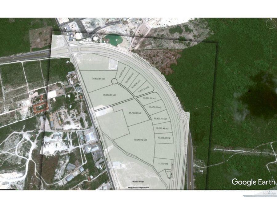 terrenos comerciales desde 10000m2