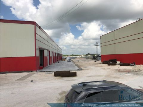 nave industrial logistica 226 m2 punta cana
