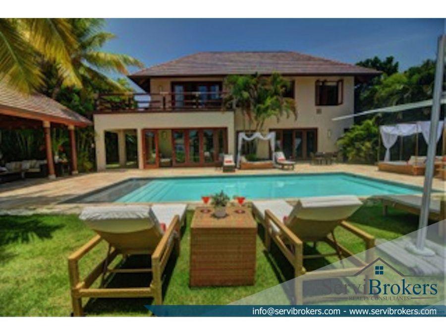 villa 4 habitaciones punta cana resort
