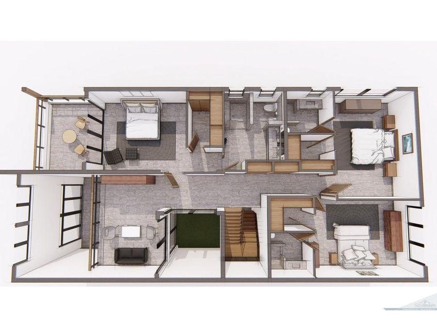 casa de campo 3 4 hab duplex projecto en const
