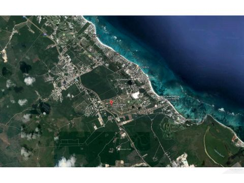 terreno 1110m2 en venta cocotal bavaro punta cana