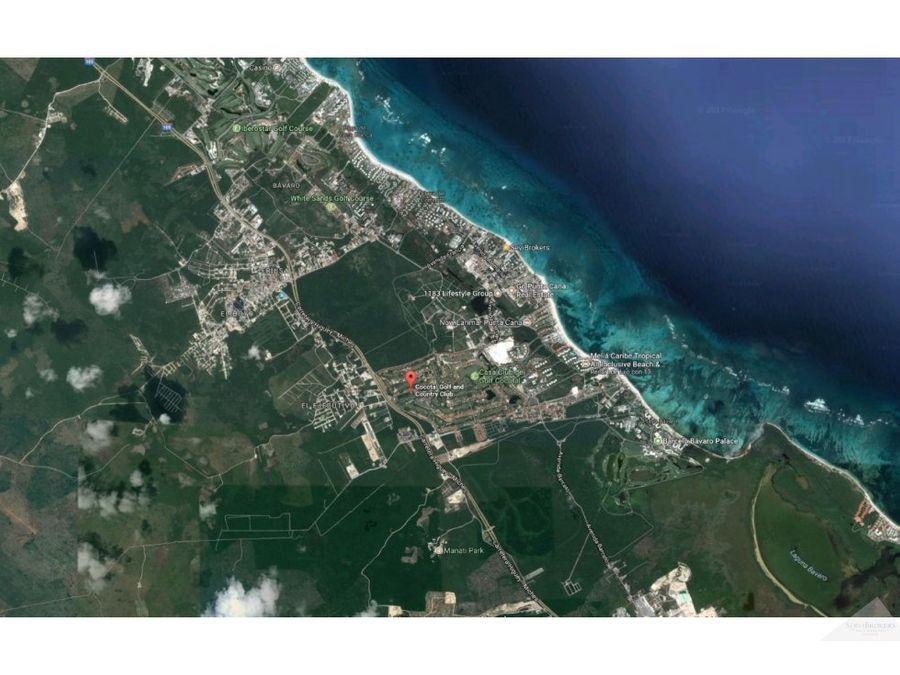 terreno 1020m2 en venta cocotal bavaro punta cana