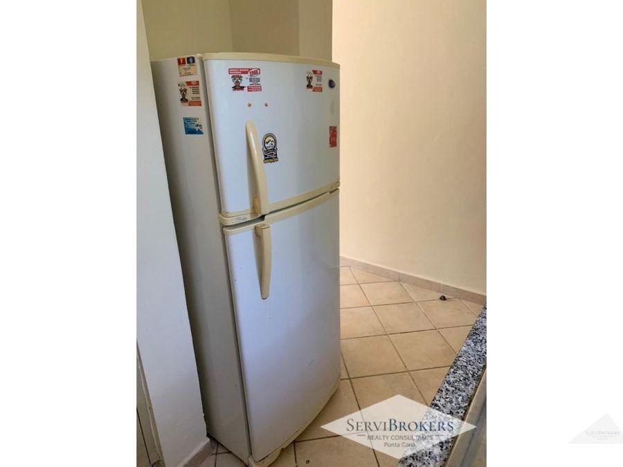 renta apartamento 1 hab cocotal punta cana