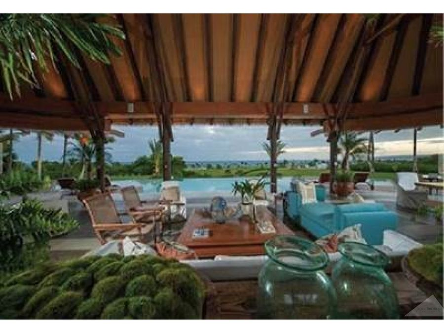 villa de lujo privada 6 hab cap cana caleton beach punta cana